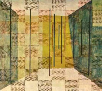 Chess (scacchi) – Paul Klee, 1931
